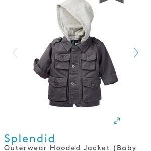 🎉Splendid Boys' Hooded Jacket-2T
